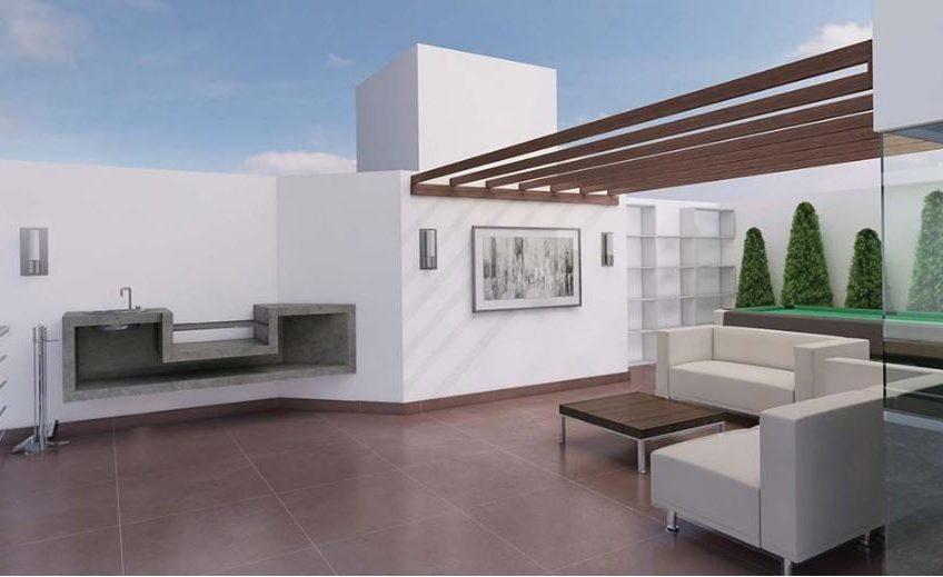 Dúplex de estreno con terraza