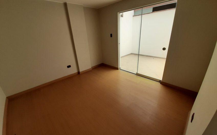 Departamento flat en primer piso bien iluminado